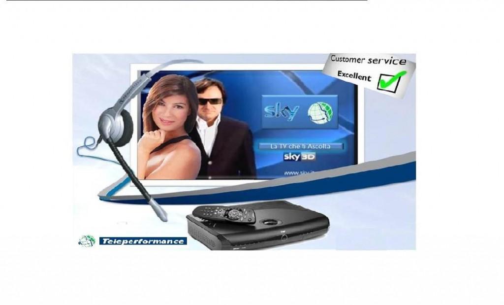 Premio SKY per la customer satisfaction Teleperformance Roma