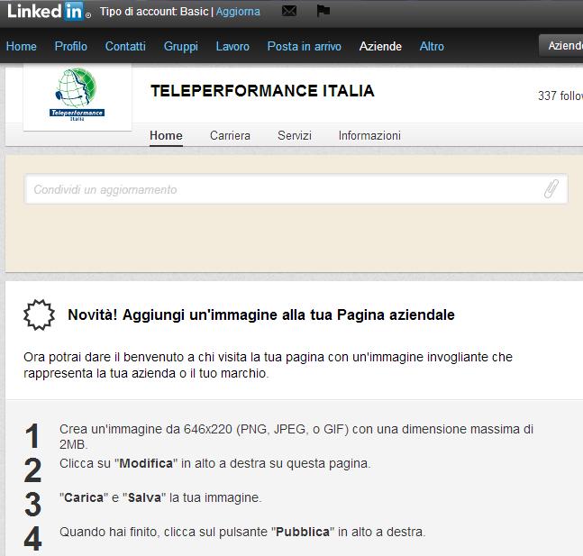 teleperformance company page