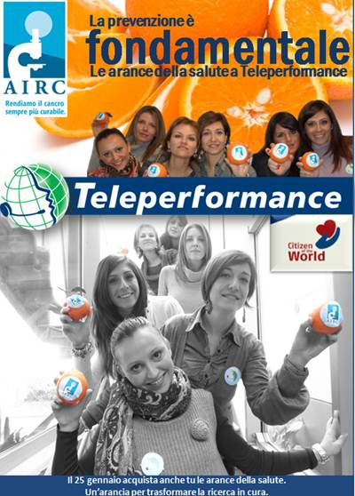 teleperformance airc ricerca