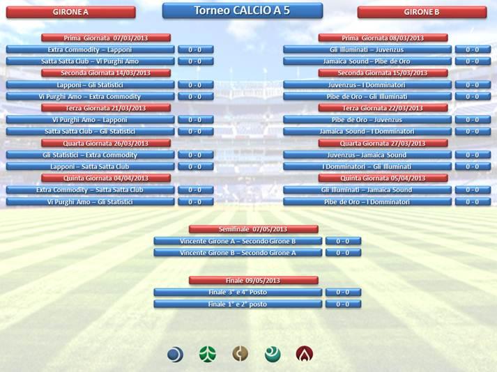 date torneo calcio personale teleperformance