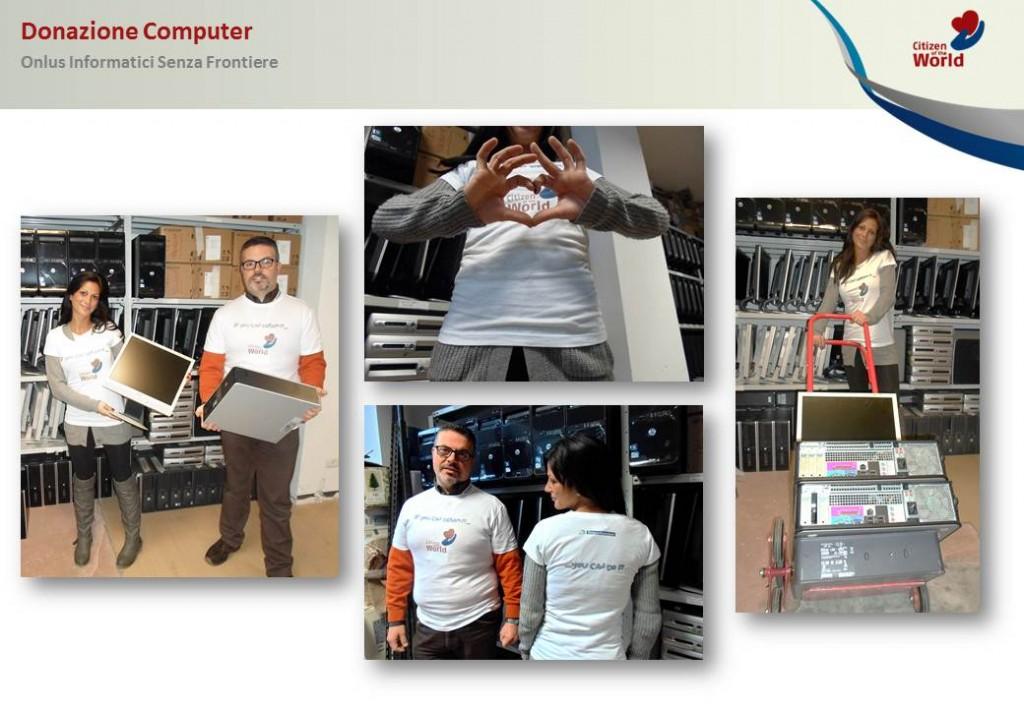 teleperformance donazione pc