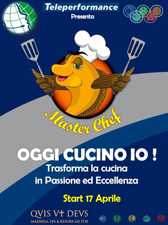 teleperformance italia masterchef