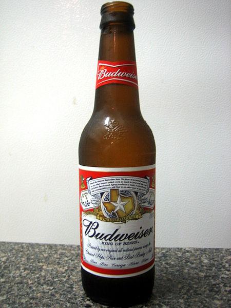 bottiglia di birra Budweiser