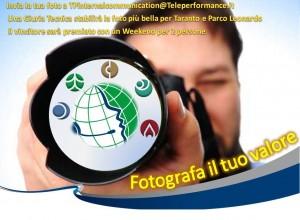 concorso fotografico per i dipendenti teleperformance