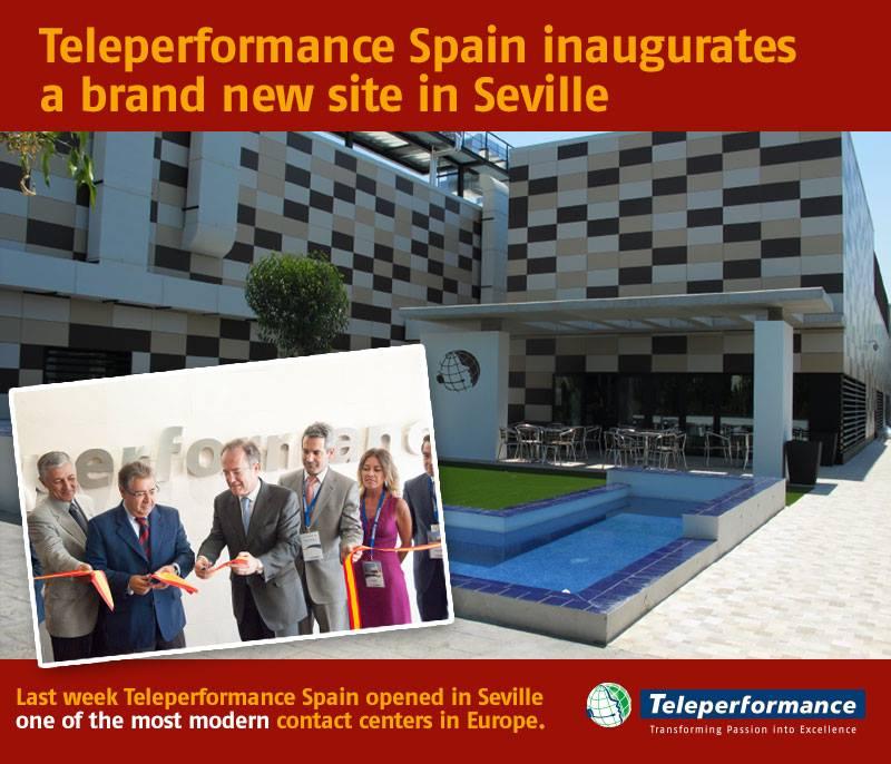 teleperformance nuova sede spagnola