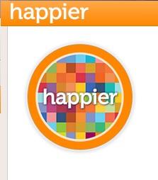 happier il social media della felicità
