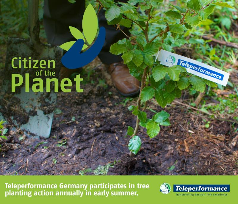 teleperformance germania riforestazione