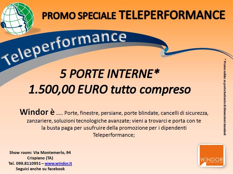 convenzione teleperformance