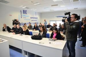 Michele Pelillo sede Teleperformance Taranto 3