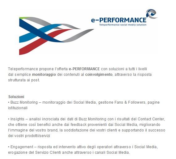 il social marketing di teleperformance