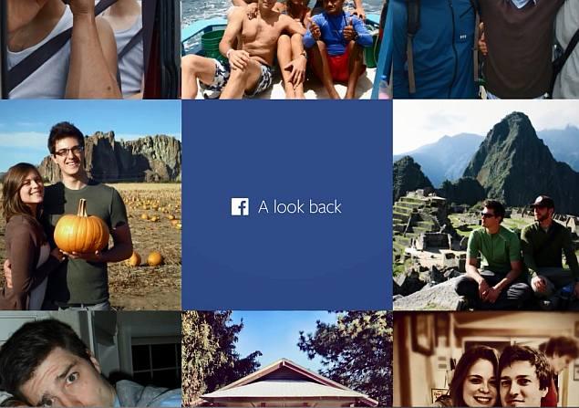 videoclip a look back di facebook