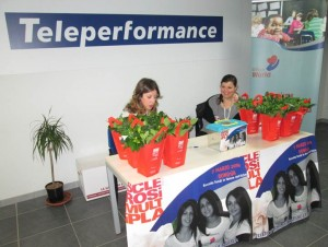 Teleperformance taranto raccolta AISM 1