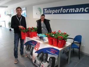 Teleperformance taranto raccolta AISM 4