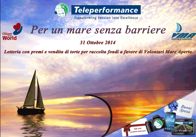 teleperformance volontari mare aperto