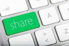 condivisione immagini sui social media