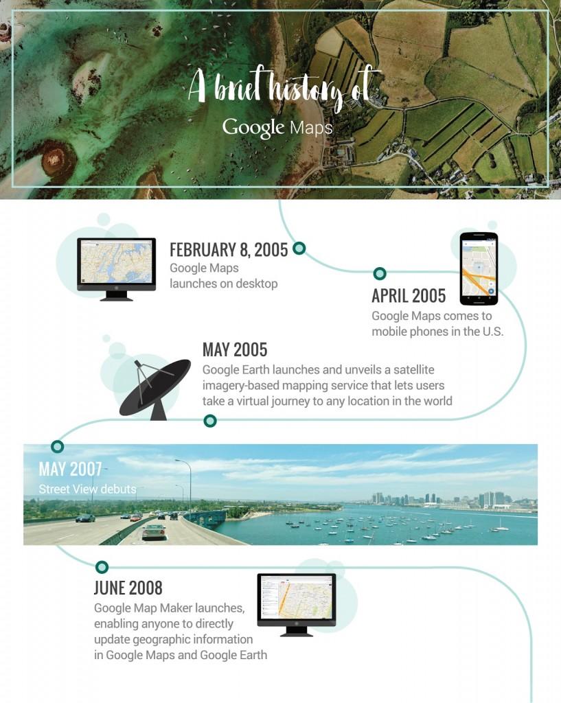 10 anni fa nasceva google maps