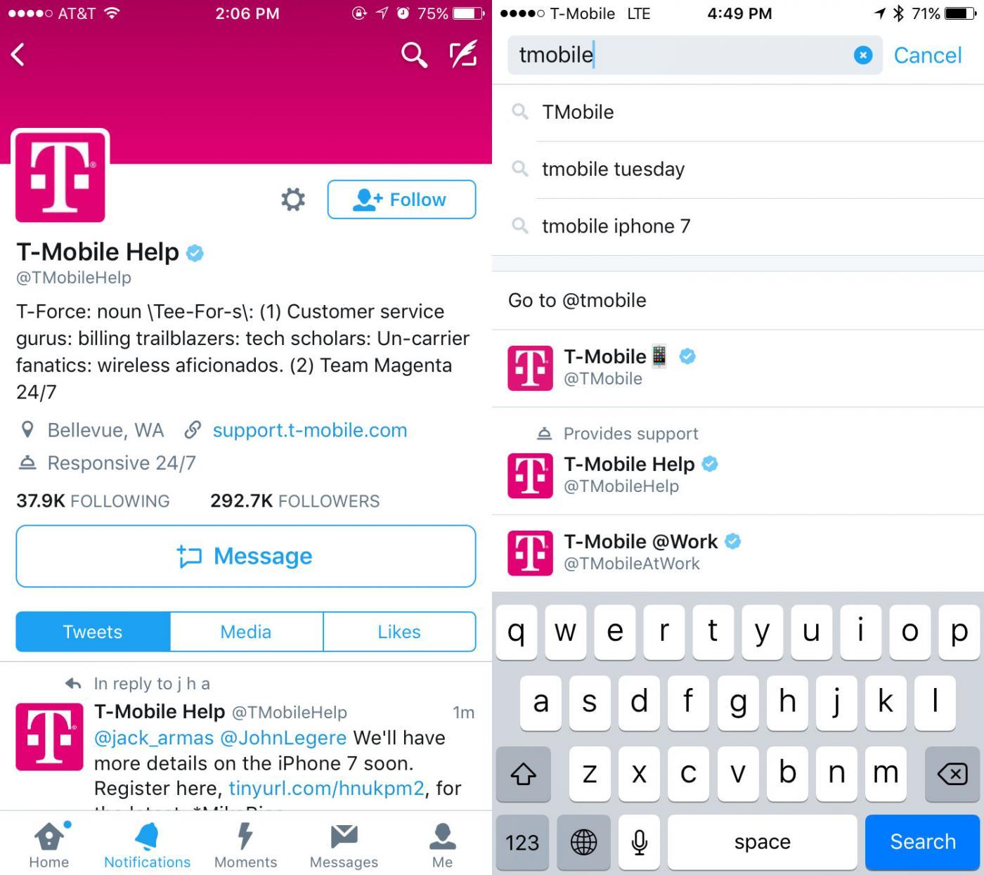 servizio clienti via Twitter